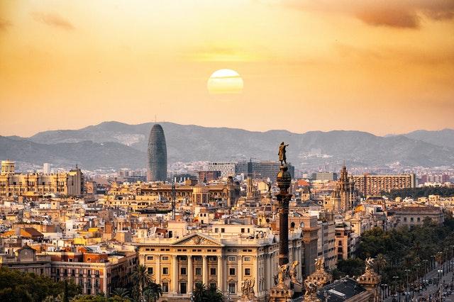 internationale verhuizing naar Spanje