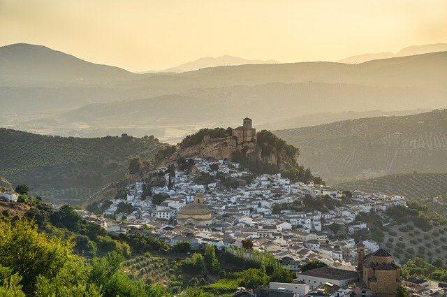 Stacaravans in Spanje